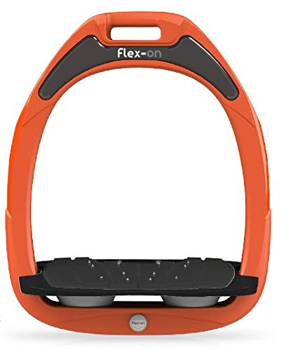 Flex on GAMME Safe-ON Mixed Ultra-Grip Frame Orange Footbed Color: Black ELASTOMERS: Gray, one Size Grey