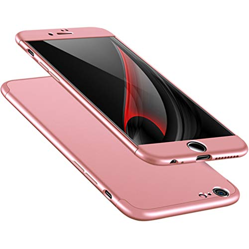 A Trading iPhone 6 Plus case, Ultra-Thin PC Hard Case Cover for iPhone 6 Plus (Rose Gold)