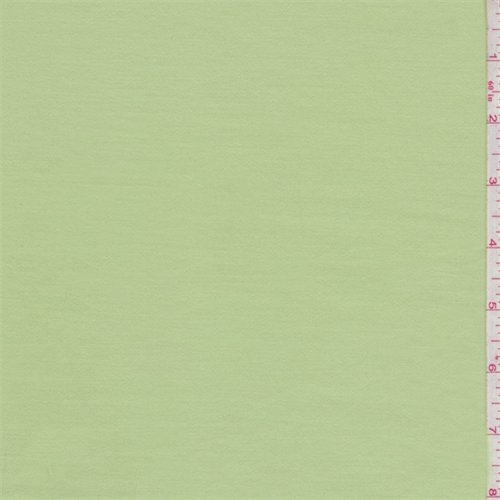 Meadow Green Stretch Sateen, Fabric by The (Stretch Sateen Fabric)