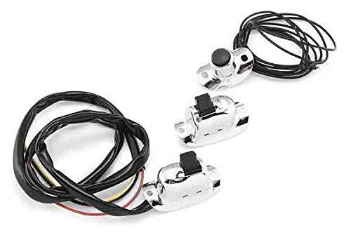Bikers Choice Handlebar Switch Horn/Starter for Harley 36-69