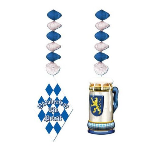 [Oktoberfest Danglers Party Accessory (1 count) (2/Pkg)] (Oktoberfest Costumes Party City)