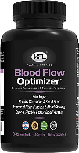 Blood Flow OptimizerTM by Dr Sam Robbins | Helps improve Blood Flow, Circulation | Reduces Plaque, Calcium...