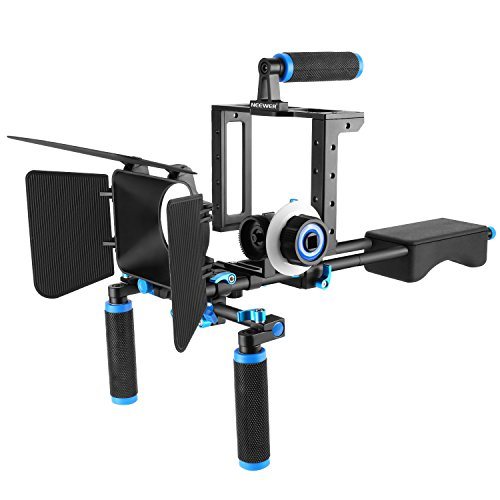 88d8592bd Neewer Aluminum Alloy Film Movie Rig System Kit for Canon Nikon Sony and  other DSLR Cameras