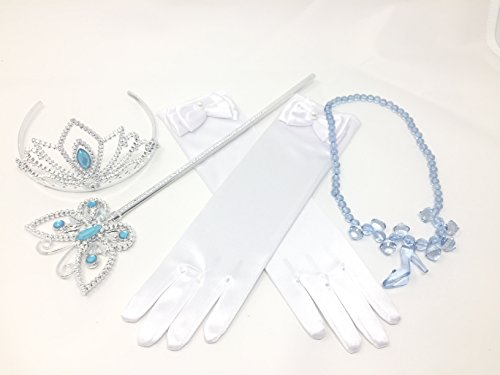Princess Cinderella Dress up Party 4-Piece Accessories Gift Set (Cinderella) - http://coolthings.us