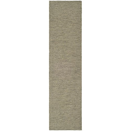 (Safavieh Southampton Collection SHA243C Handmade Grey Polyester Runner, 2 feet by 6 feet (2' x 6'))