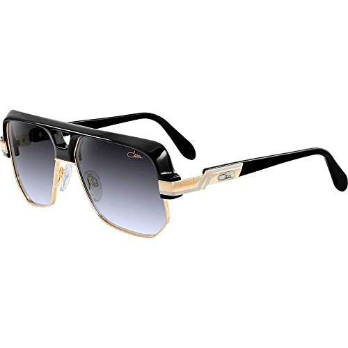 f4d190a1bbac Sunglasses Cazal Vintage 672 001 black gold 100% Authentic New