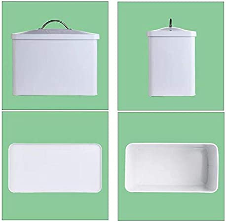 Bread Bin With Lid Island and Pantry Metal Bread Box Holder For Loaves and Pastries Storage Container for Kitchen Countertop