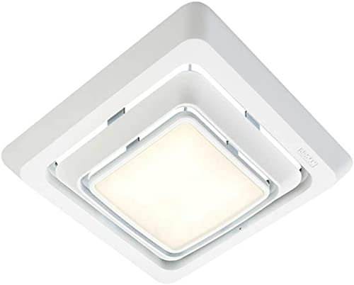 Broan Fg600 Bath Fan Led Upgrade Grille Kit, White, 10-1 4 in