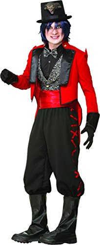 Mens Circus Lion Tamer Costume (Mens Halloween Fancy Party Dress Circus Lion Tamer Ring Master Costume Outfit)