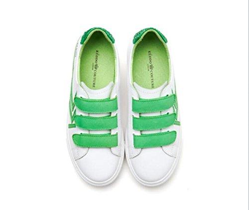 planos zapatos casual de mujeres de fuego cuero moda Súper blanco segundo femeninos zapatos zapatos zapatos WFL de de las B84YSqW