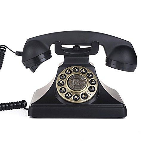 XHY Téléphone antique, téléphone fixe de corde d'hôtel de famille - élégant ã€