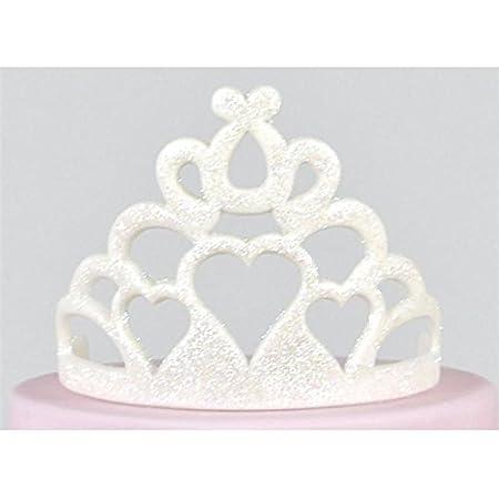 Molde para tartas de corona de fondant Tiara cortador de galletas para decoración de tartas de princesa corona (2 tamaños): Amazon.es: Hogar
