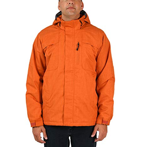 Arctix Men's Espresso Insulated Winter Jacket, Burnt Ginger, Large ()