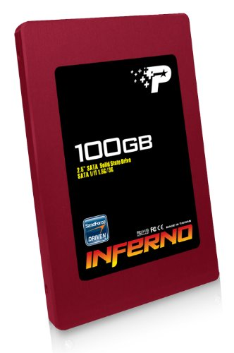 Patriot Inferno 100 GB SATA II 2.5-Inch Solid State Drive (SSD) with TRIM support PI100GS25SSDR
