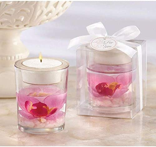 Yankee Candle Set of 2 Clear Glass Cylinder Votive Candleholder NEW Boxed Decor