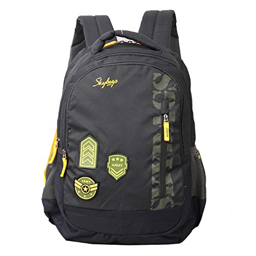 Skybags Stream Backpack (Army Green)