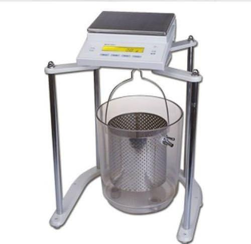 MXBAOHENG Balanza hidrostática electrónica volumétrica de densidad sólida 5100g 0.1g