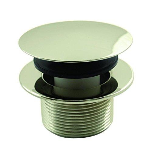 Tub Brass Polished European (Westbrass Mushroom Tip Toe 1-1/2