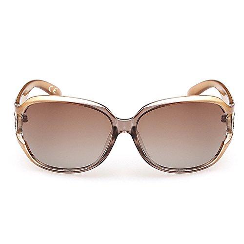 Grande Uv Da Donna Moda Sole Polarizzato Cornice Del Champagne Vebrellen Protezione Occhiali 0nOvmNwy8