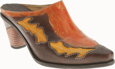 Spring Step Womens Fun Clogs Brown ONMFB