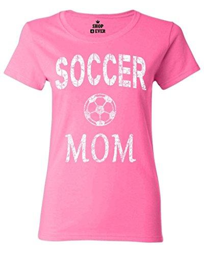 Shop4Ever Soccer Mom Women's T-Shirt Sports Shirts