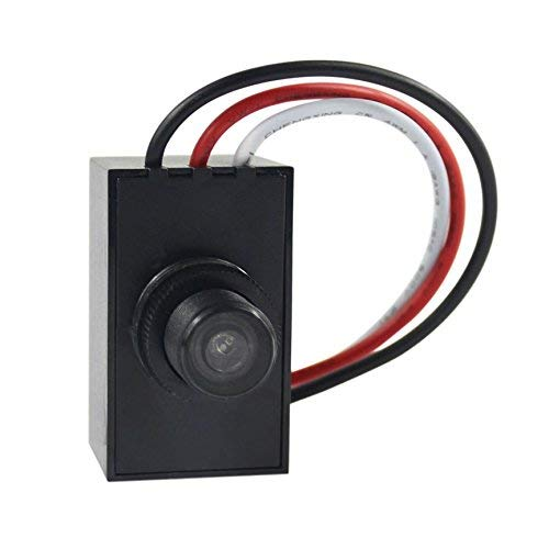 Outdoor Post Light With Photocell in US - 7