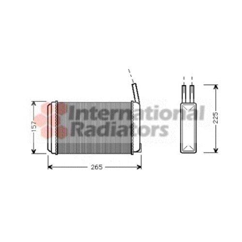 Van Wezel 18006094 interior Calefacció n intercambiador de calor Van Wezel Gmbh 36_18006094