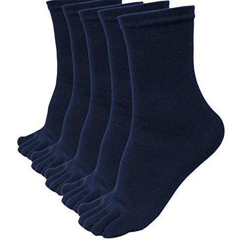 kinlene 5 pares hombres deportes corriendo cinco dedos dedo del pie calcetines elásticos cortos calcetines Soild: Amazon.es: Ropa y accesorios