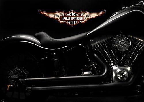 Harley davidson A4 - 21 - Moto - classic Moto - chopper moto ...