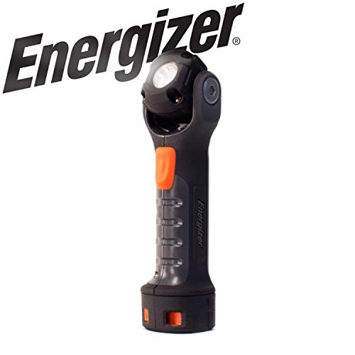 Energizer LED AA Work Light, Hard Case Professional PivotPlus Light, 5 Hour Run Time, 300 Lumens (Batteries Included) ()
