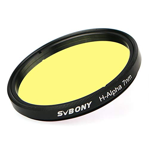 SVBONY Telescope Filter H-Alpha 7nm 2 inches Filter Narrowband Astronomical Photographic CCD Filter Color Filter Set for Deep Sky Photography