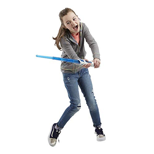 41XxhkXLP2L - Star Wars Scream Saber Lightsaber Toy, Record Your Own Inventive Lightsaber Sounds & Pretend to Battle, for Kids Roleplay Ages 4 & Up