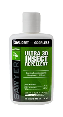 Sawyer Products SP534 Ultra 30 Insect Repellent Lotion, 4-Ounce
