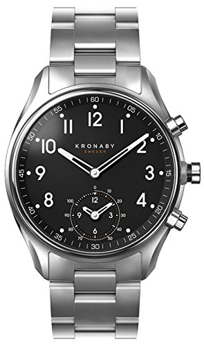 Kronaby Apex Quartz Watch Black 43mm 10 atm A1000-1426