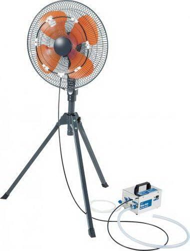 Iliving ILG-250 Fan Misting Kit, 200 PSI, Nylon Fan Not Included , Silver