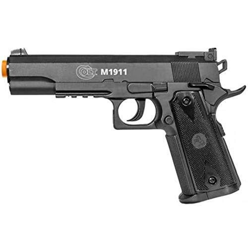 AirSoft 500 FPS COLT M 1911 Licensed CO2 Gas Hand Gun Pistol w/ 6mm BB BBS