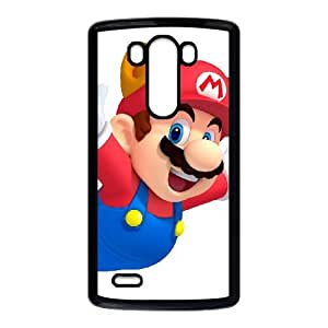 LG G3 Cell Phone Case Black Super Smash Bros Mario OJ423546