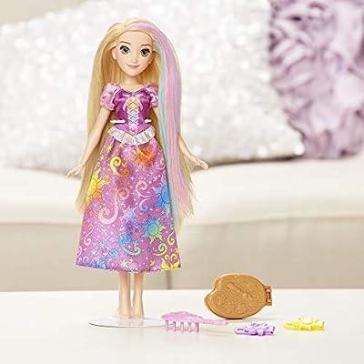 Disney Princess Rainbow Styles Rapunzel, Hair Play Doll: Toys & Games