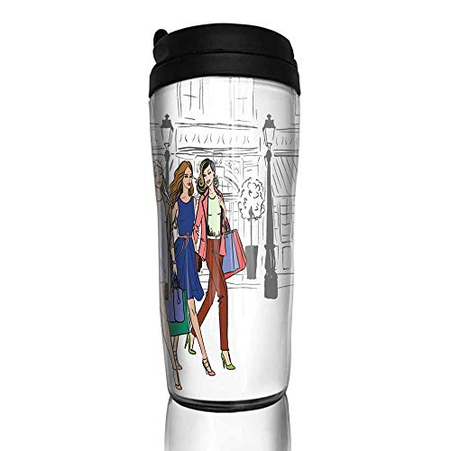 (coffee cups for mom and dad women with shopping bags 12 oz,coffee cup stand for counter)