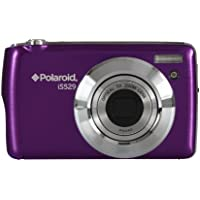 Polaroid IS529-PUR-ESP-KIT 16.1 Digital Camera with 2.7-Inch LCD (Purple)