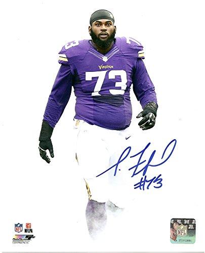 Sharrif Floyd Minnesota Vikings Autographed   Signed 8 X 10 Photo Coa Pose   6