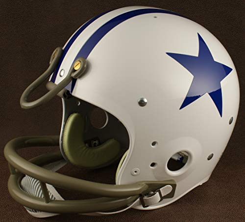 - Riddell Dallas Cowboys 1960-1963 NFL TK Suspension Football Helmet