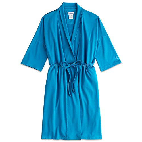 Recovery Robe for Breast Cancer/Surgery Recovery (X-Large, Blue)