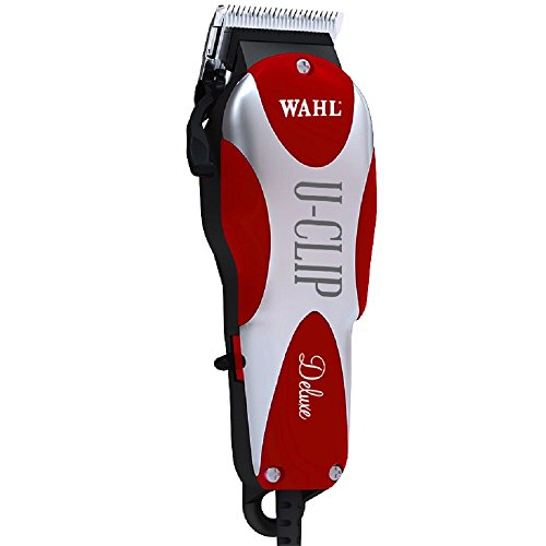 Adjustable Blade Set - Wahl Professional Animal Deluxe U-Clip Pet Clipper Trimmer Grooming Kit for Dogs Cats and Pets Hair Fur #9484-300
