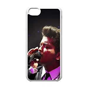 iPhone 5c Cell Phone Case White Bruno Mars Sing Face Music F8J8HN