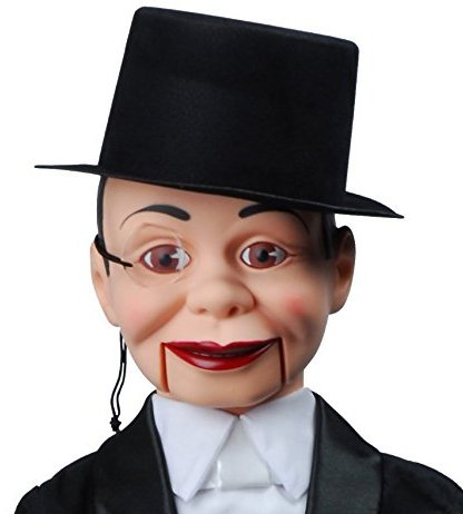 Charlie McCarthy Dummy Ventriloquist Doll Most Famous Celebrity Radio Personality Created by Edgar Bergen. BONUS E-Book 'How to Be a Ventriloquist'