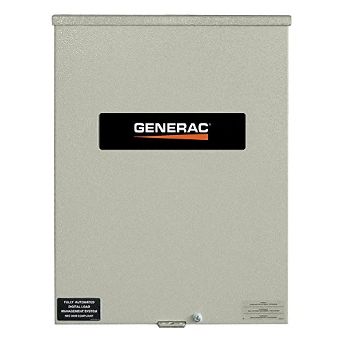 Generac Switches Transfer (Generac RTSW200A3 200 Amp Automatic Transfer Switch 120/240V Single Phase Rated NEMA 3R)