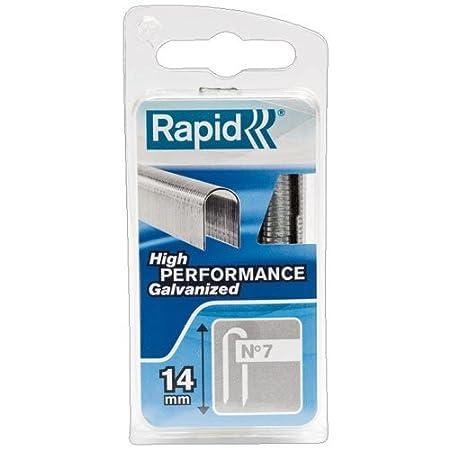 5x1.000 St Rapid 11891931 Kabelklammern Typ 28//11mm DP wei/ß Schachtel 11 mm Nr.28