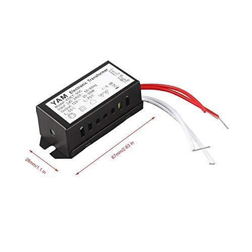 Snake Conductor de CA 220V a 12V 20-50W l/ámpara hal/ógena Transformador electr/ónico LED