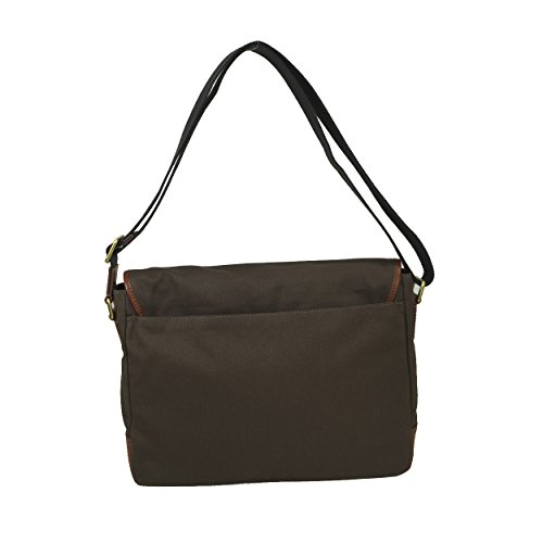 Fossil Graham 15'' Laptop Messenger brown_brown x